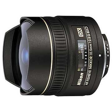 AF DX Fisheye-Nikkor 10.5mm f/2.8G ED obiektyw rybie oko