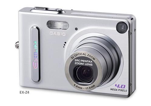 Casio Exilim EX-Z4 aparat