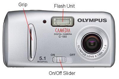 amatorski aparat kompaktowy Olympus C-180