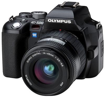 Olympus E-500 zdjęcie cyfrowa lustrzanka