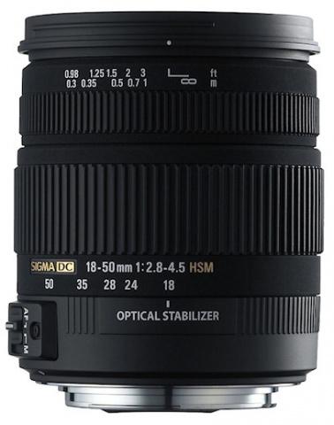 obiektyw Sigma 18-50 mm F2.8-4.5 DC OS HSM