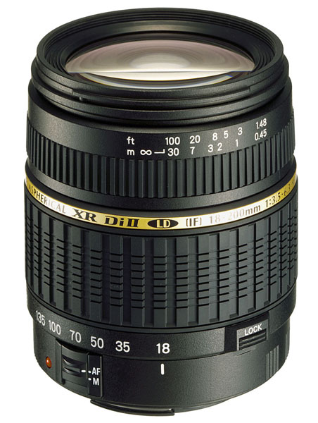 Tamron AF 18-200 mm f/3,5-6,3 XR Di-II LD Aspherical (IF) Macro