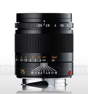 Leica Summarit-M f/2.5/75 mm