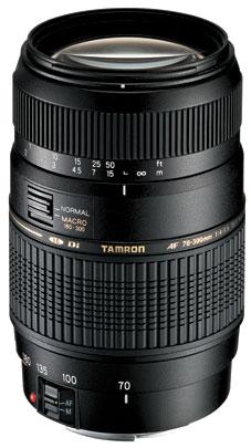 Tamron AF 70-300 mm F4-5.6 Di LD Macro 1:2 Nikon obiektyw